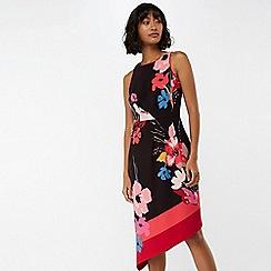 Monsoon - Black 'Eloise' asymmetric hem dress