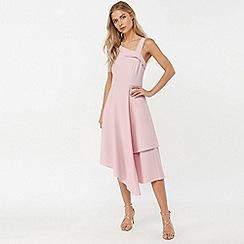 Monsoon - Pink 'Odette' asymmetric dress
