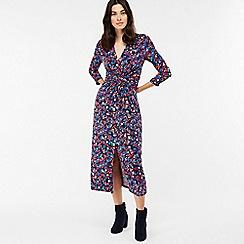 Monsoon - Multicoloured 'Betty' print midi dress