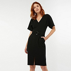 Monsoon - Black 'Cassie' crepe dress