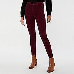Monsoon - Purple 'Kendall' cord trouser