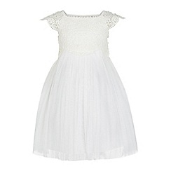 Monsoon - White Baby 'Estella' Dress