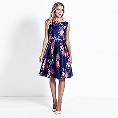 Sistaglam - Floral 'Neeko' prom dress