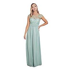 Sistaglam - Jade 'Beverley' lace bridesmaid maxi dress
