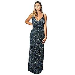 dbac2a03 Sistaglam - Multicoloured 'Lolla' multi sequin dress