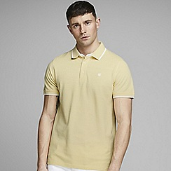 Jack & Jones - Yellow 'Paulos' polo shirt