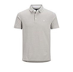Jack & Jones - Grey 'Paulos' polo shirt