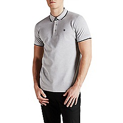 Jack & Jones - Light grey 'Paulos' polo shirt
