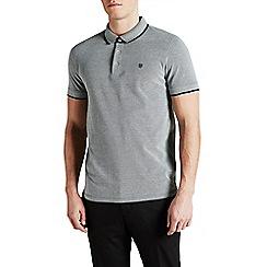 Jack & Jones - Dark grey 'Paulos' polo shirt