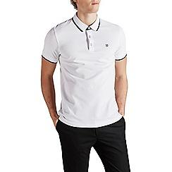 Jack & Jones - White 'Paulos' polo shirt