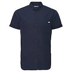 Jack & Jones - Navy 'Gavin' shorts sleeved shirt