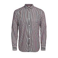 Jack & Jones - Red check 'Lee' shirt