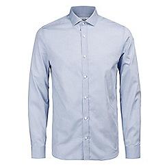 Jack & Jones - Light blue stripe 'Lee' shirt