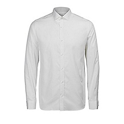 Jack & Jones - White plain 'Lee' shirt