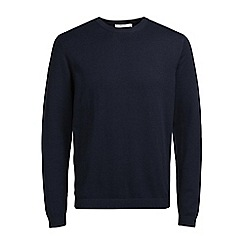 Jack & Jones - Navy 'Morten' knit jumper