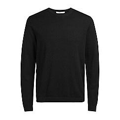 Jack & Jones - Black 'Morten' knit jumper