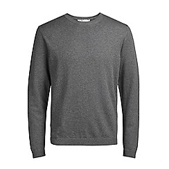 Jack & Jones - Grey 'Morten' knit jumper