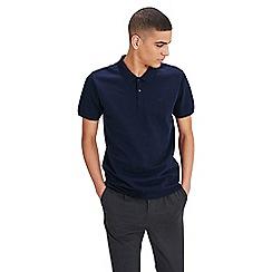 Jack & Jones - Navy 'Belfast' short sleeved polo shirt