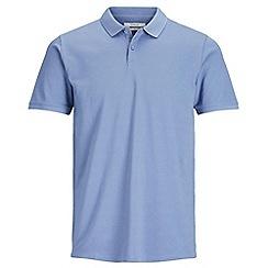 Jack & Jones - Blue 'Belfast' polo shirt