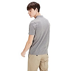 Jack & Jones - Grey 'Belfast' short sleeved polo shirt