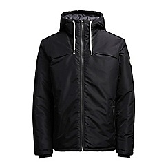 Jack & Jones - Black 'Calm canyon' puffer jacket