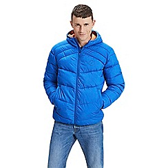 Jack & Jones - Blue 'Landing' puffer jacket