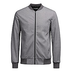 Jack & Jones - Dark grey 'Robin' bomber jacket