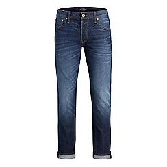 Jack & Jones - Blue 'Tim 006' slim fit jeans