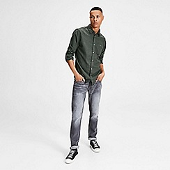 Jack & Jones - Dark green 'Christopher' shirt