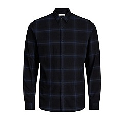 Jack & Jones - Navy 'Luis' check shirt