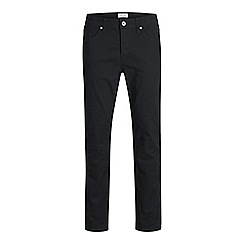 Jack & Jones - Black 'Tim 410' slim fit jeans