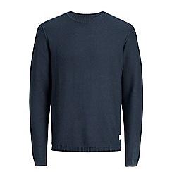 Jack & Jones - Navy 'Uber' knitted jumper