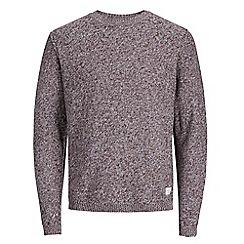 Jack & Jones - Grey'Uber' knitted jumper