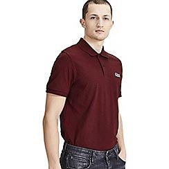 Jack & Jones - Burgundy 'Jet' polo shirt