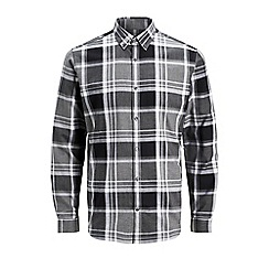Jack & Jones - Grey 'Xmas' check shirt