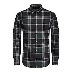Jack & Jones - Dark green 'X-mas' check shirt