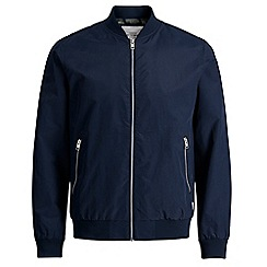 Jack & Jones - Navy 'Pacific' bomber jacket