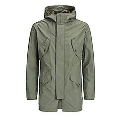 Jack & Jones - Olive 'Light' parka coat