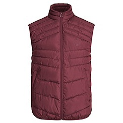 Jack & Jones - Burgundy 'Landing' bodywarmer