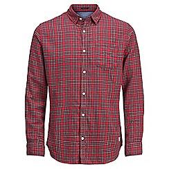 Jack & Jones - Red checked 'Tartan' shirt