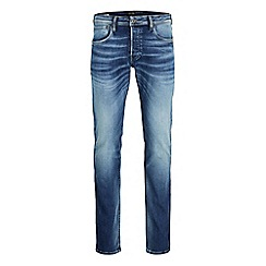 Jack & Jones - Slim fit 'Glenn' jeans in blue
