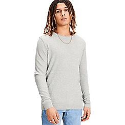 Jack & Jones - Light grey 'Nash' jumper