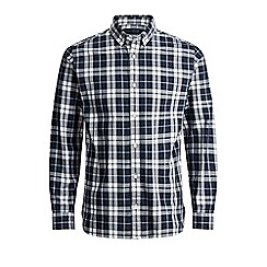Jack & Jones - Navy 'Lawrence' checked shirt