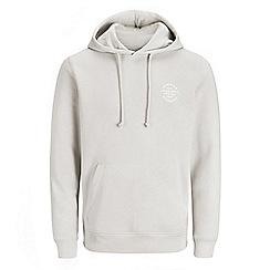 Jack & Jones - Off white 'Solid bell' hoodie