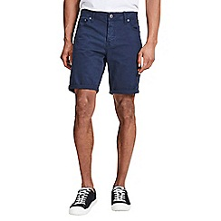 Jack & Jones - Dark navy 'Rick' shorts