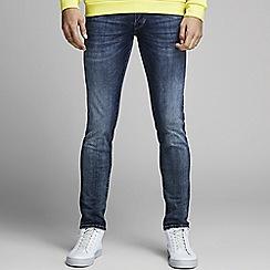 Jack & Jones - Blue 'Glenn 057' slim fit jeans