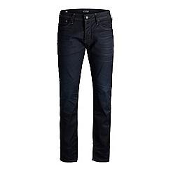 Jack & Jones - Blue denim 'Mike 803' comfort fit jeans