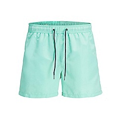 Jack & Jones - Bright blue 'Sunset' swim shorts