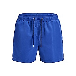Jack & Jones - Blue 'Sunset' swim shorts