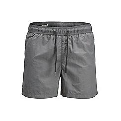 Jack & Jones - Grey 'Sunset' swim shorts